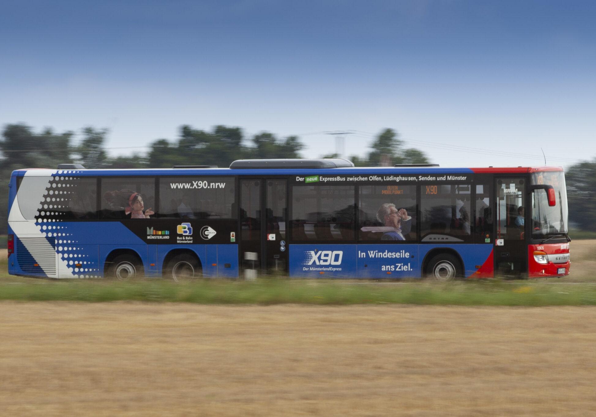 ExpressBus X90 – RVM Regionalverkehr Münsterland GmbH